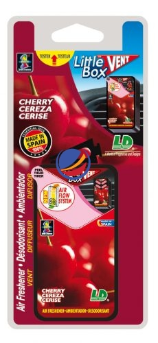 Little Box Vent-Blister Vent-Cherry